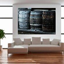 malango® Vintage Whiskyfässer Wandtattoo Tattoo Auto Dekoration Styling Design Aufkleber Fass Whiskey 20 x 30 cm digitalgedruckt digitalgedruckt 20 x 30 cm