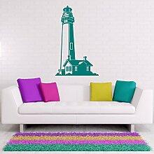 malango® Wandaufkleber Leuchtturm Sticker
