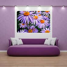 malango® Wandbild Zauberhafte Blumen Aufkleber Wandaufkleber Dekoration Design Styling 40 x 61 cm digitalgedruckt digitalgedruckt 40 x 61 cm