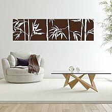 malango® Wandtattoo Banner Bambus Pflanze