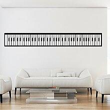 malango® Wandtattoo Piano Tastatur Wandaufkleber