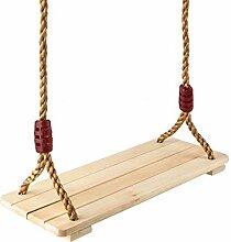 MALATEC Schaukel aus Holz Brettschaukel Kinder