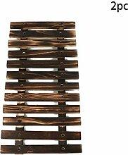 Malayas 2 Stück Rankgitter Pflanzengitter Holz