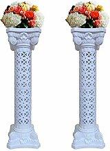 Malayas®2 Stück römischen Säulen Blumen aus