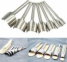Malayas®7 Stück Leder Werkzeuge Handwerk Cutter
