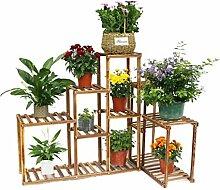 Malayas Pflanzenregal Holz Blumentreppe 5 Ebenen