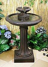 Maleda Vogelbad Brunnen