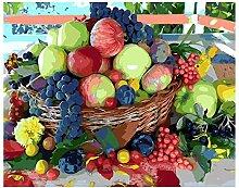 Malen Färben Nach Zahlen Traubenapfel Frisches