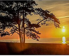 Malen Nach Zahlen Sonnenuntergang über dem Meer