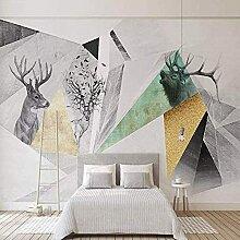 Malen Sie Nordic TV Hintergrund Wallpaper Moderne