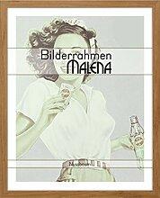 Malena CANVASO Bilderrahmen 40x60 cm in Nussbaum