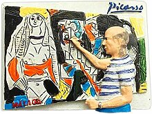 Maler Picasso Spanien 3D Kühlschrank