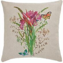 Malerischer Blumen-Kissenbezug für Ihre