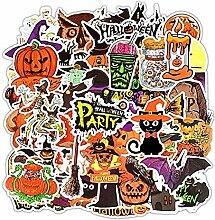 MAlex 50 Halloween-Aufkleber Körper-Aufkleber