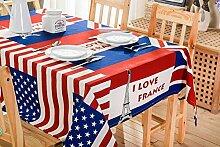 MAlex Tischdecke Tischdecken Rechteck American