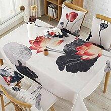 MAlex Tischdecken Baumwolldicke rechteckige