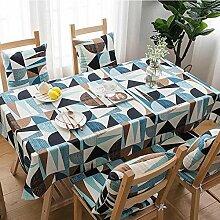 MAlex Tischdecken Rechteck einfache nordischen
