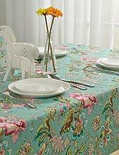 MAlex Tischdecken Rechteck europäischen Tisch