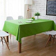 MAlex Tischdecken Rechteck Quadrat grün