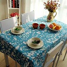 MAlex Tischdecken rechteckig Rechteck Tuch