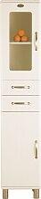 Malibu 5168 - Badezimmer Hochschrank - Weiß