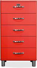 Malibu 5215 - Kommode - Schubladenschrank - Rot