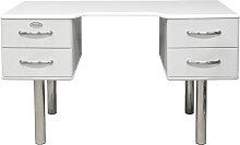 Malibu 5253 - Schreibtisch - Bürotisch - Weiß