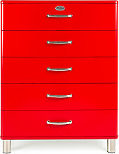 Malibu 5295 - Kommode - Schubladenschrank - Rot