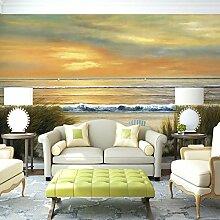 Malilove Custom 3D Wandbild Fernseher Sofa Hintergrund Wand Im Europäischen Stil Öl Gemälde Antike Malerei Bibliothek Museum Lobby Veranda Wallpaper Wandbild