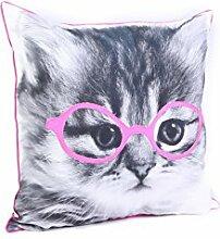 Malini Kissen Purrfect Kissen, Pink