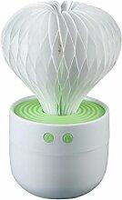 Malloom®Mini Unsterbliche Ball Hause Aroma LED Luftbefeuchter Luft Diffuser Luftreiniger Zerstäuber Blau (grün)