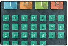 MALPLENA A-Z Alphabet Flache Icons Set