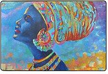 MALPLENA Afrikanische Frauen Die Muster Malen