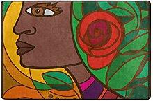 MALPLENA Afrikanisches Kunst-Frauen-Muster