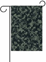 MALPLENA Camouflage Armee Garten Flagge Premium