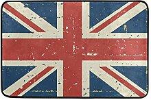 MALPLENA England Flagge Bodenmatten Schuhe Schaber