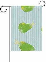 MALPLENA-Flagge mit Farbigem Birnenfahne, für den