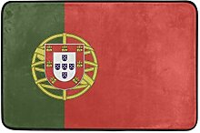 Malplena Fußmatte Portugal Flagge Fußmatten