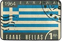 MALPLENA Griechenland Flagge Stempel Bodenmatten