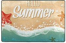 MALPLENA Hallo Sommermuster Eingangsbereich