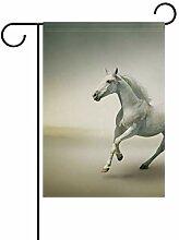 MALPLENA Honorable Pferdeflagge Garten Premium