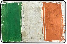 MALPLENA Irland Flagge Bodenmatten Schuhe Schaber