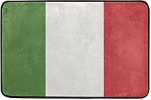 MALPLENA Italien Flagge Bodenmatten Schuhe Schaber