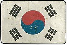 MALPLENA Korea Flagge Bodenmatten Schuhe Schaber