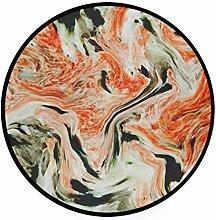 MALPLENA Malpela Fußmatte aus Marmor, rund,