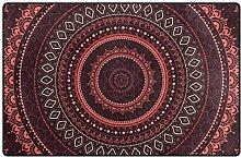 MALPLENA Malpela Mandala Outdoor Teppich Eingang