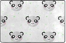 MALPLENA Malpela Panda Baby Teppich für