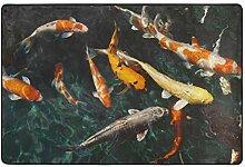 MALPLENA Malpela Tierfische Karpfen Koi Teppich