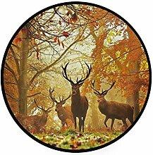 MALPLENA Malplee Jagd Hirsch Herbst Wald Muster