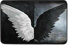 MALPLENA Malpley Fußmatte mit Engelsflügeln,